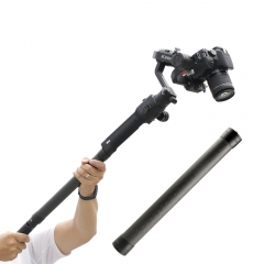 DF DIGITALFOTO RS-S01 carbon fiber extend extension stick For DJI RONIN S 3 Axis Gimbal stabilizer handheld rod bars accessories