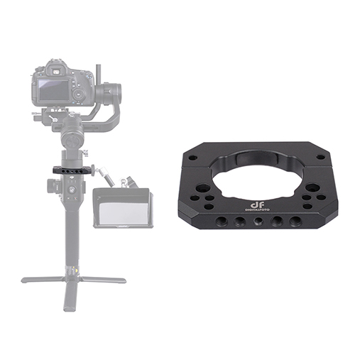 Spider-S SPIDERS Ronin S adapter ring mounting plate for Ronin S Crane 2 Mounting monitor/microphone/LED