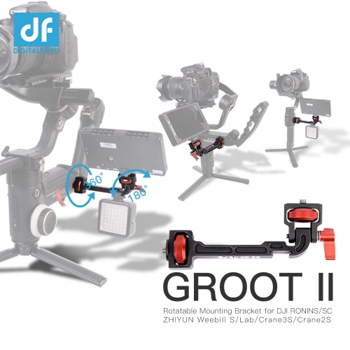Rotatable Mounting Bracket for DJI RONINS/SC/RS2/RSC2 ZHIYUN Weebill S /Lab/Crane3S/Crane2S