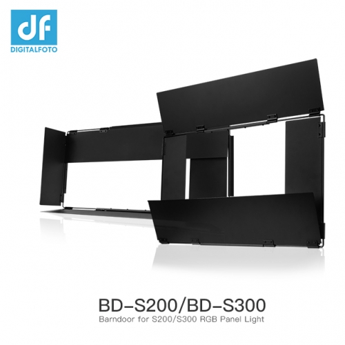 Barndoor for S200 S300 RGB Panel Light
