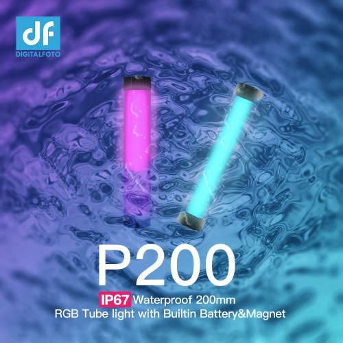 IP67 Waterproof 200mm RGB Tube light with Builtin Battery&Magnet